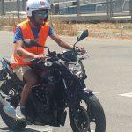 לימודי נהיגה להוצאת רישיון על אופנוע\ קטנוע
