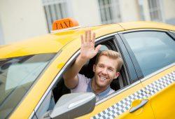 נהג מונית מנוף לשלום